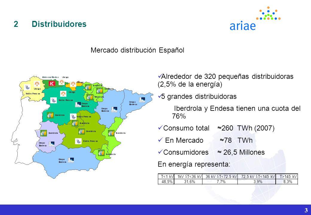 Mercado distribución Español