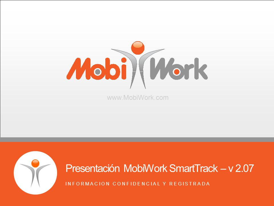Presentación MobiWork SmartTrack – v 2.07