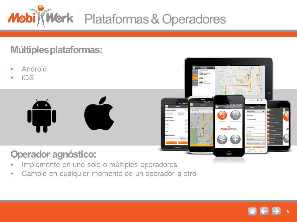 Plataformas & Operadores