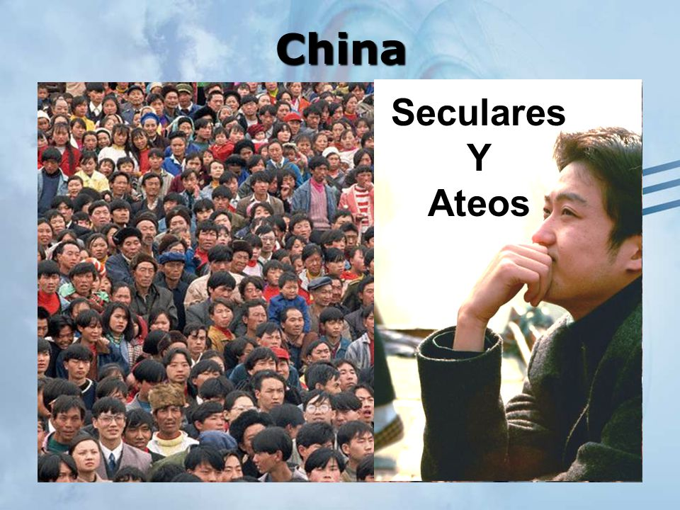 China Seculares Y Ateos Here is what one listener in China wrote: