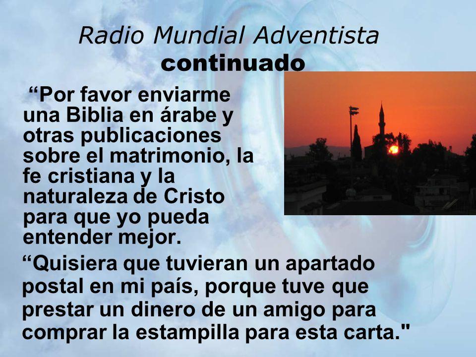 Radio Mundial Adventista continuado