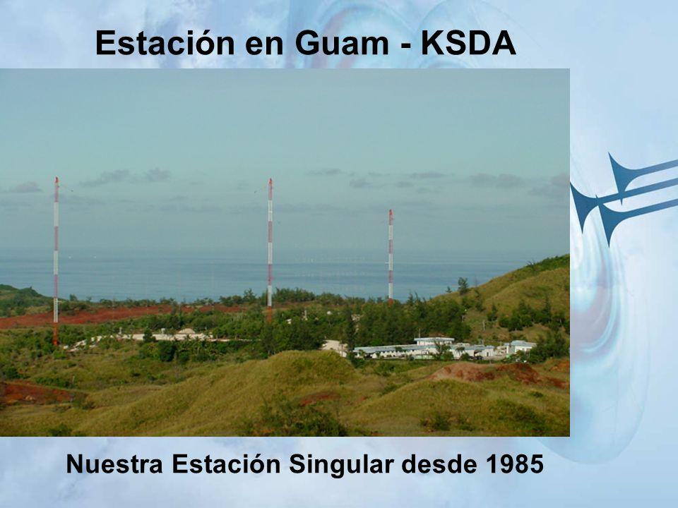 Estación en Guam - KSDA Nuestra Estación Singular desde 1985
