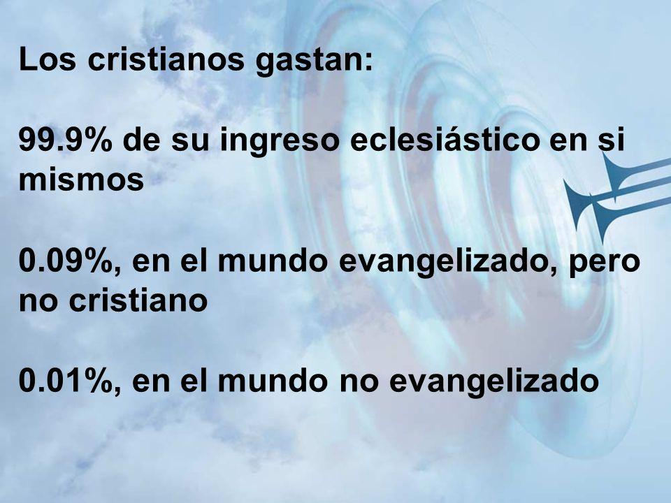 Los cristianos gastan: