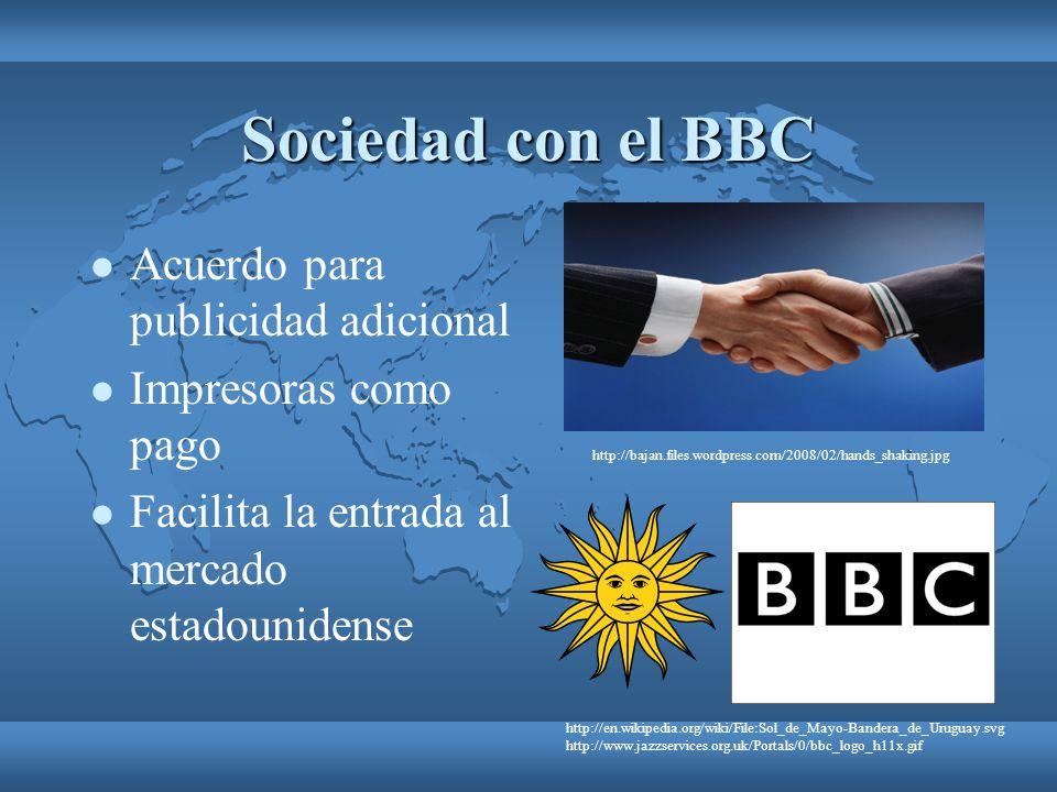 Sociedad con el BBC Acuerdo para publicidad adicional