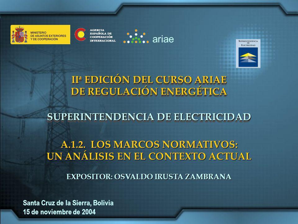 IIª EDICIÓN DEL CURSO ARIAE DE REGULACIÓN ENERGÉTICA