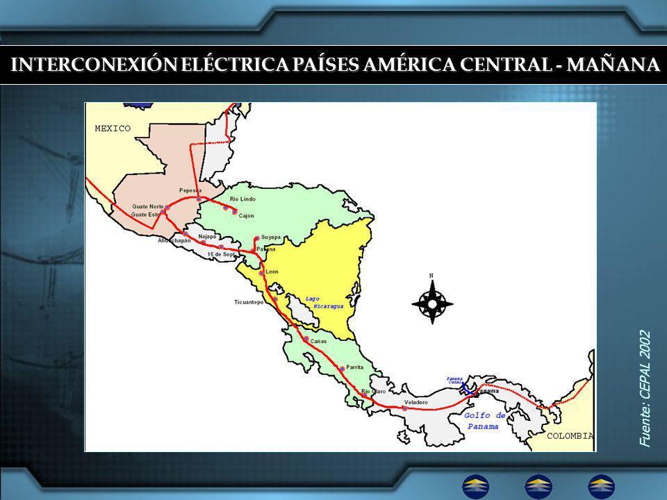 INTERCONEXIÓN ELÉCTRICA PAÍSES AMÉRICA CENTRAL - MAÑANA