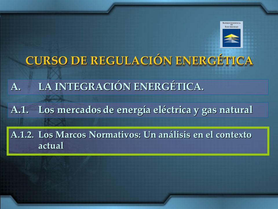 CURSO DE REGULACIÓN ENERGÉTICA