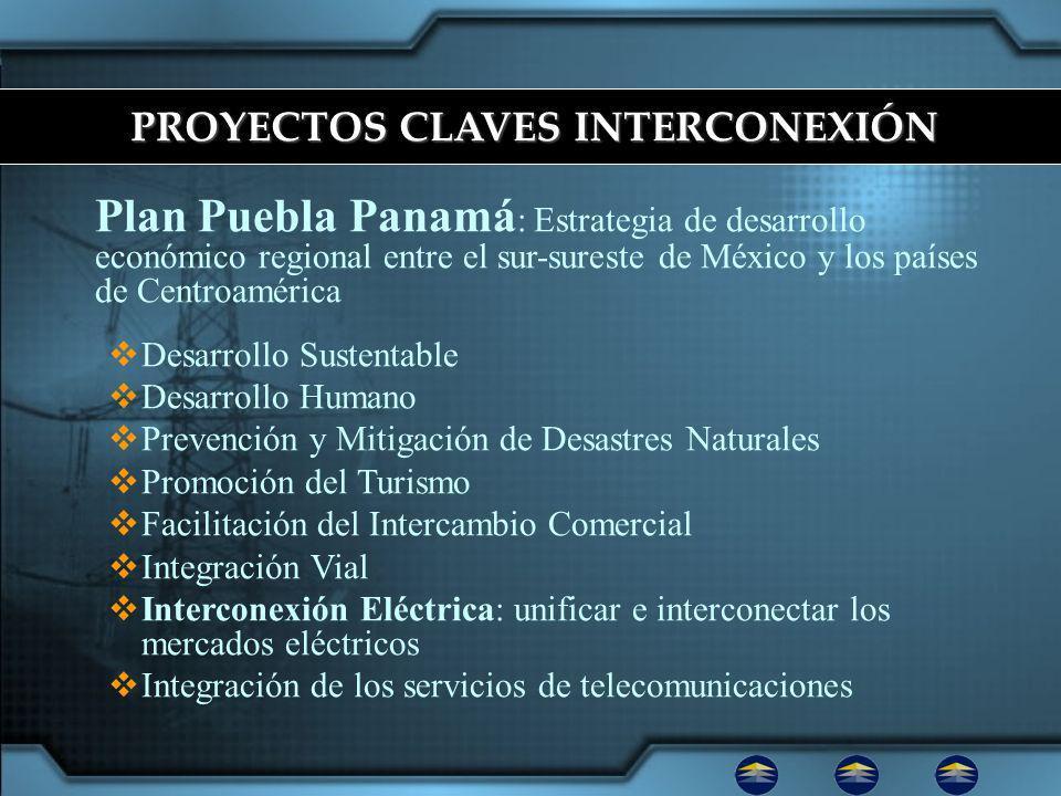 PROYECTOS CLAVES INTERCONEXIÓN