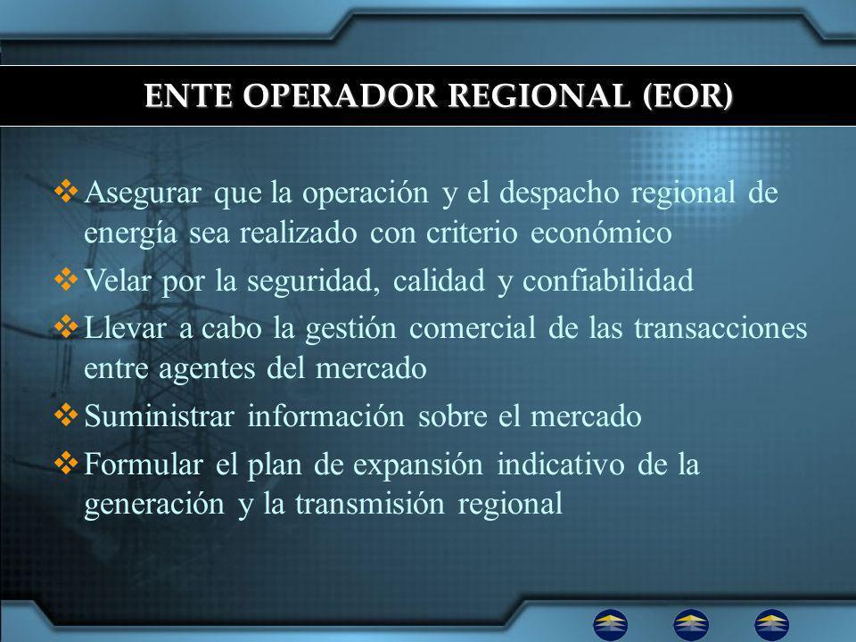 ENTE OPERADOR REGIONAL (EOR)