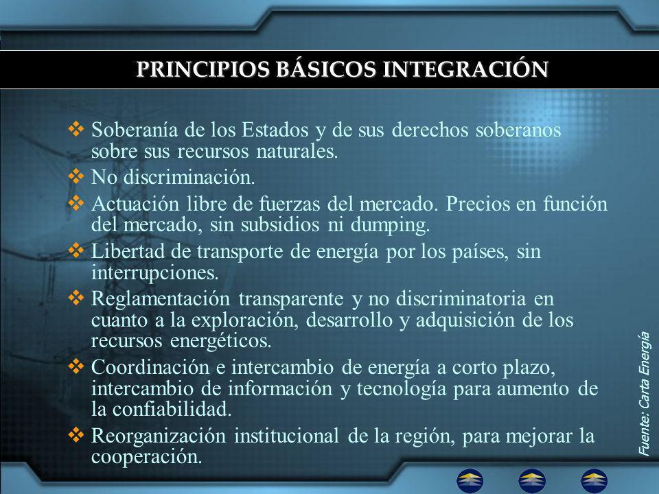 PRINCIPIOS BÁSICOS INTEGRACIÓN