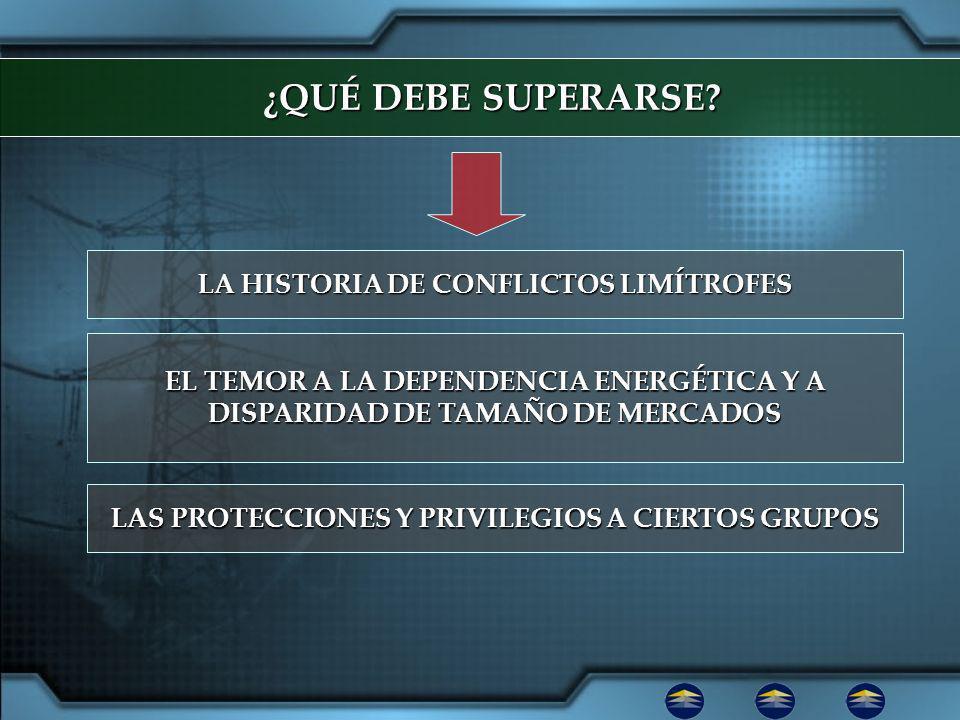 ¿QUÉ DEBE SUPERARSE LA HISTORIA DE CONFLICTOS LIMÍTROFES