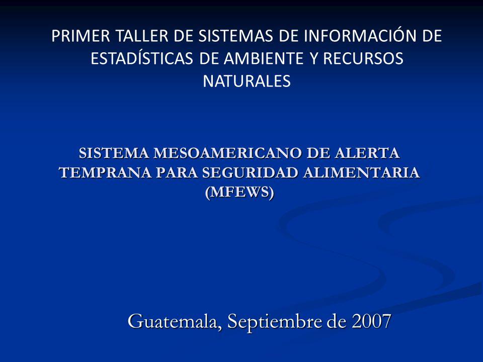 Guatemala, Septiembre de 2007