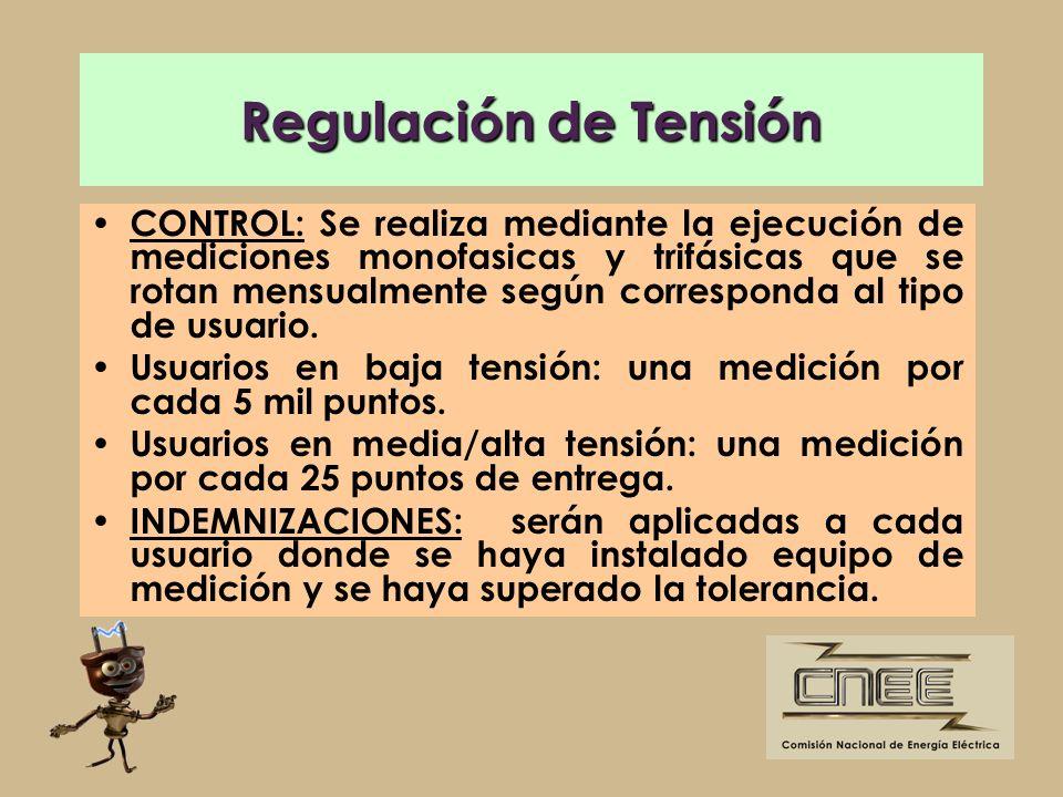 Regulación de Tensión
