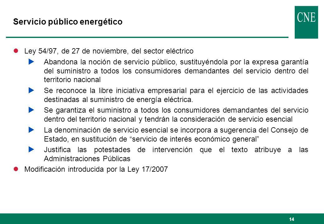 Servicio público energético
