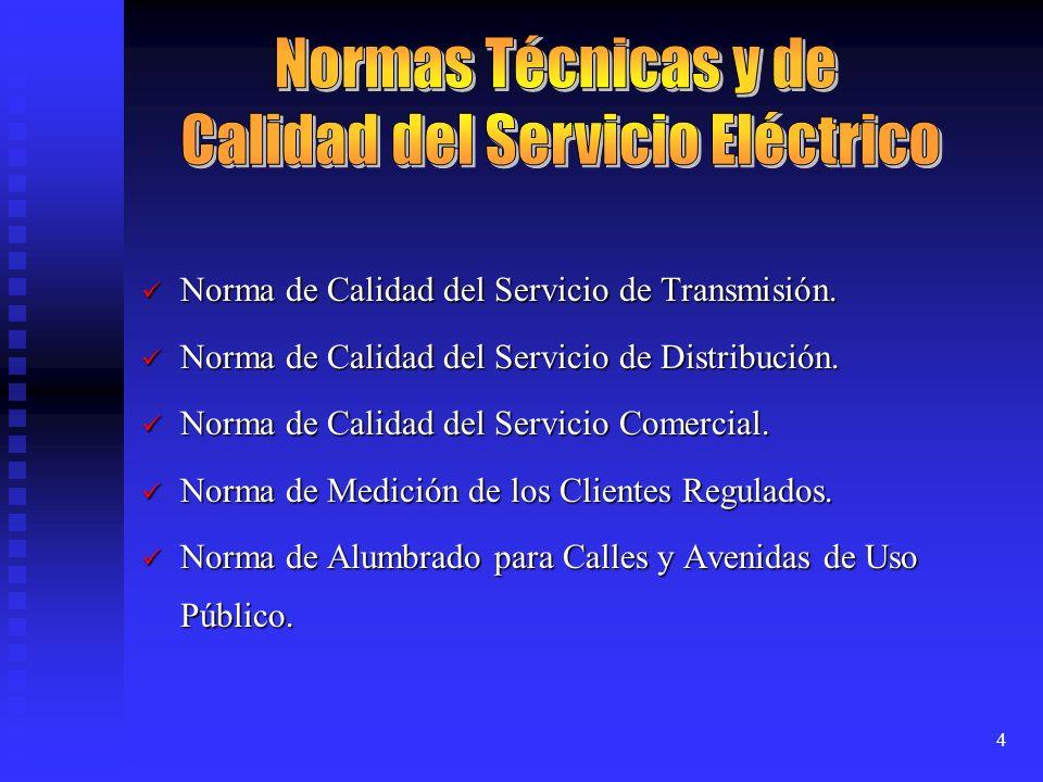 Calidad del Servicio Eléctrico