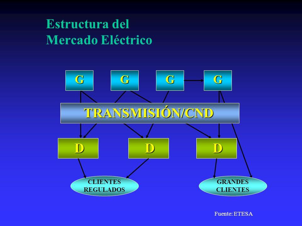 Estructura del Mercado Eléctrico