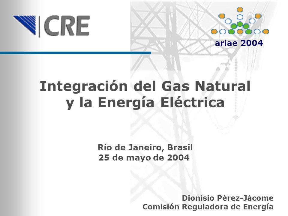 Integración del Gas Natural y la Energía Eléctrica