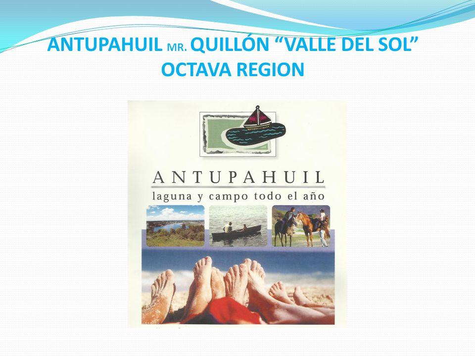 ANTUPAHUIL MR. QUILLÓN VALLE DEL SOL OCTAVA REGION