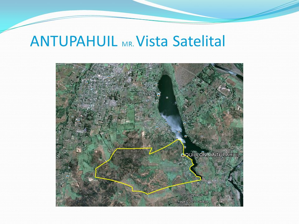 ANTUPAHUIL MR. Vista Satelital