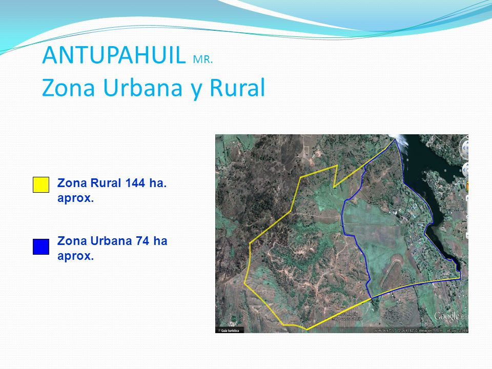 ANTUPAHUIL MR. Zona Urbana y Rural