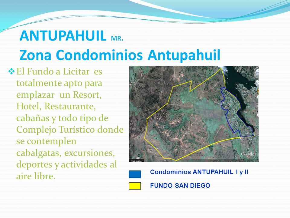 ANTUPAHUIL MR. Zona Condominios Antupahuil