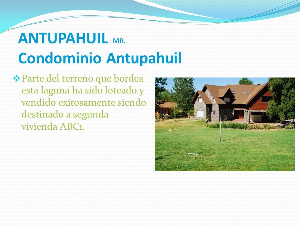 ANTUPAHUIL MR. Condominio Antupahuil