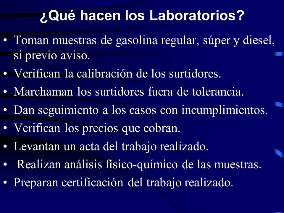 ¿Qué hacen los Laboratorios