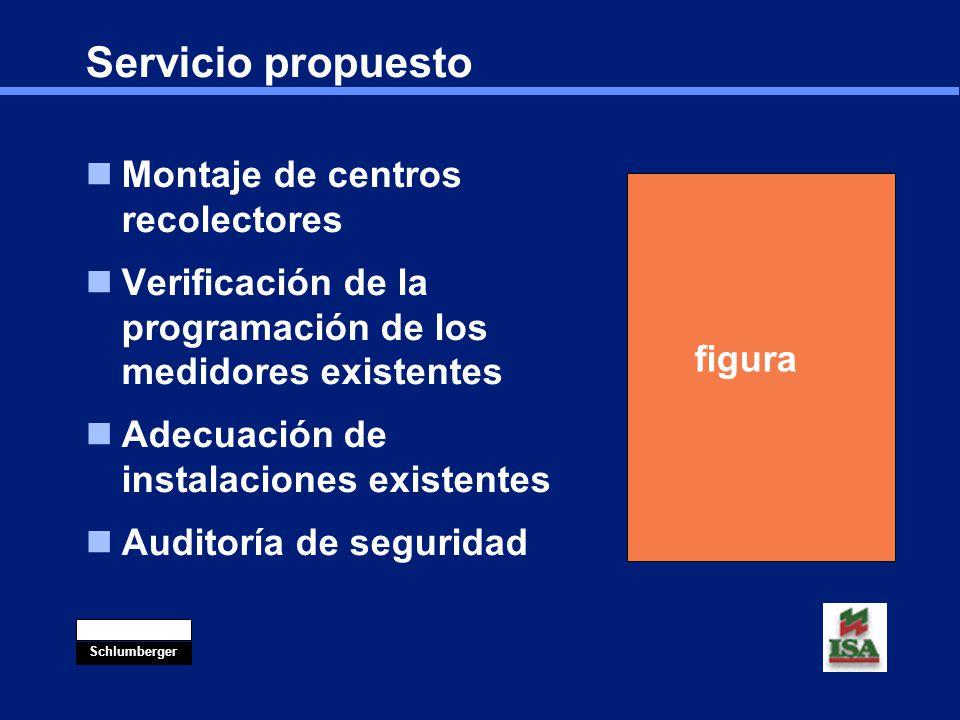 Servicio propuesto Montaje de centros recolectores