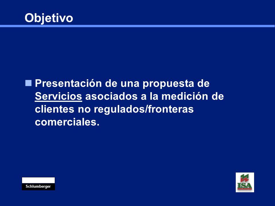 Objetivo Presentación de una propuesta de Servicios asociados a la medición de clientes no regulados/fronteras comerciales.