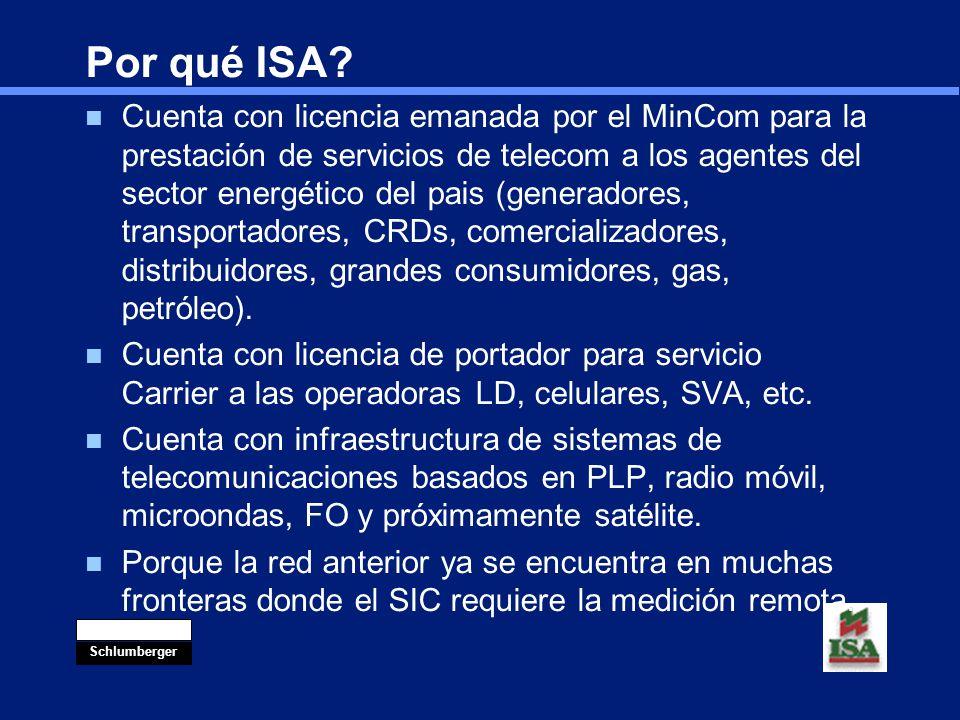 Por qué ISA