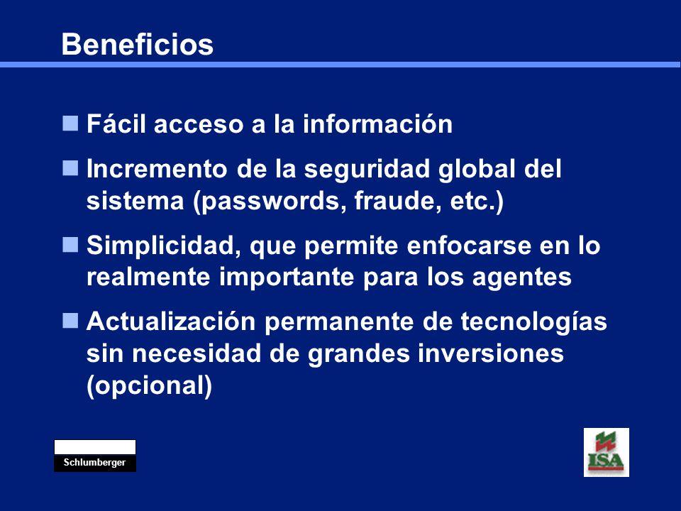 Beneficios Fácil acceso a la información