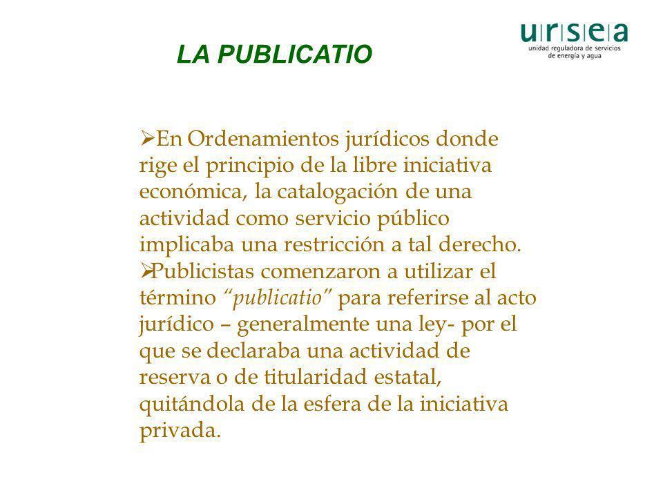 LA PUBLICATIO