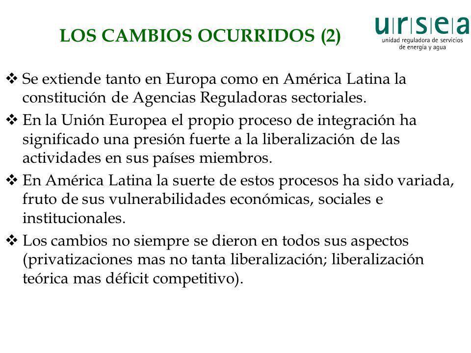 LOS CAMBIOS OCURRIDOS (2)