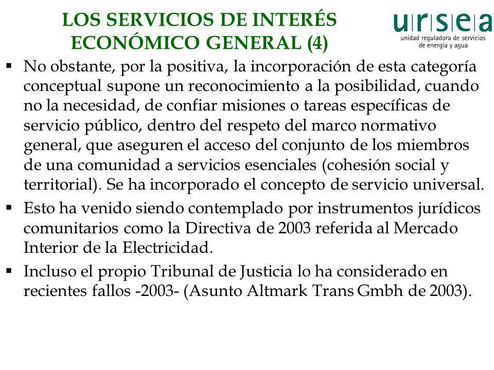 LOS SERVICIOS DE INTERÉS ECONÓMICO GENERAL (4)