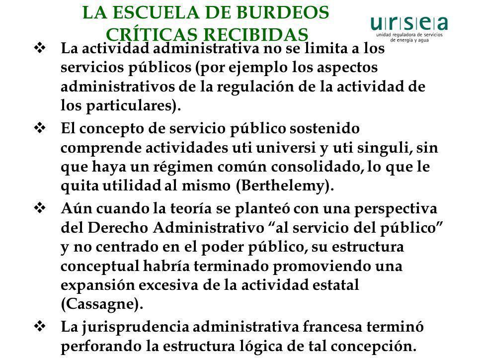 LA ESCUELA DE BURDEOS CRÍTICAS RECIBIDAS