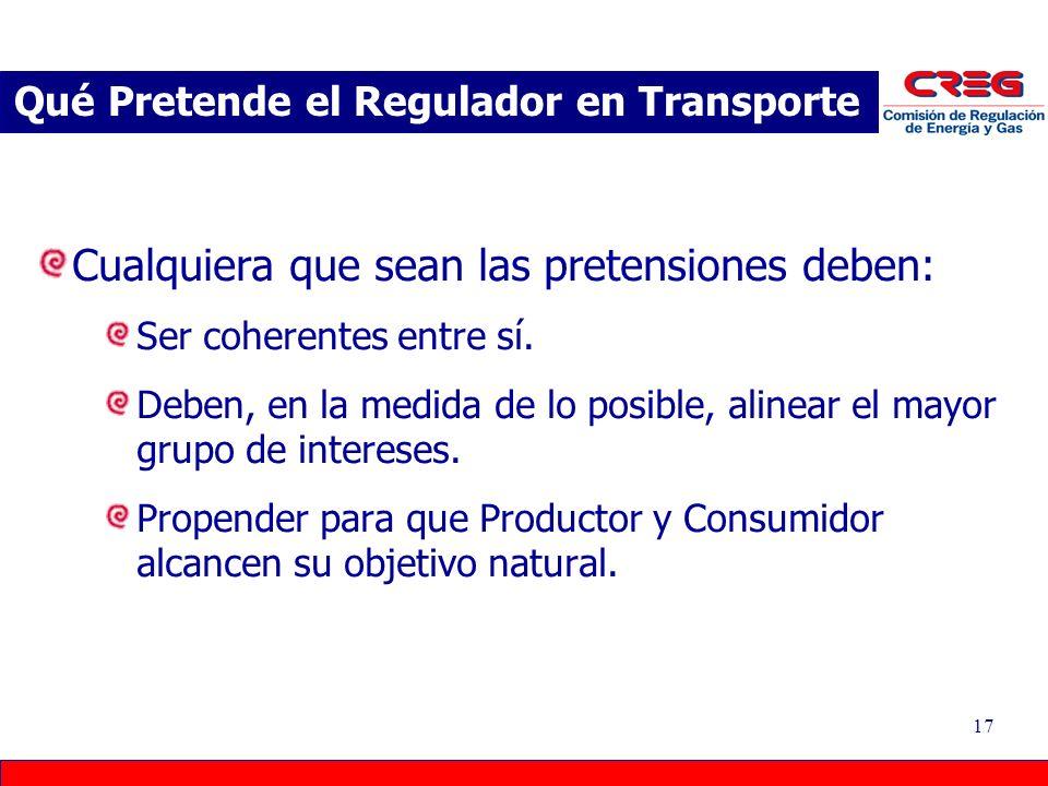 Qué Pretende el Regulador en Transporte