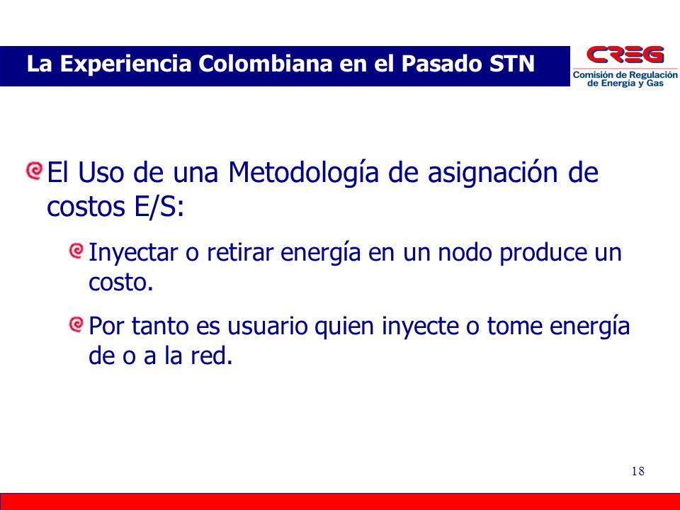 La Experiencia Colombiana en el Pasado STN