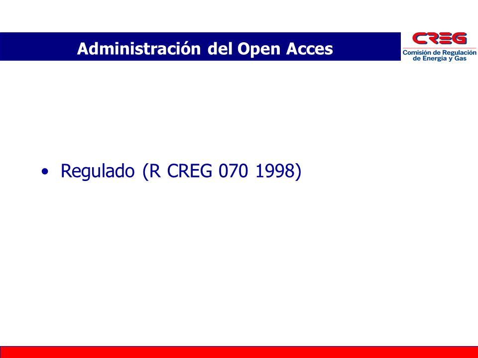 Administración del Open Acces