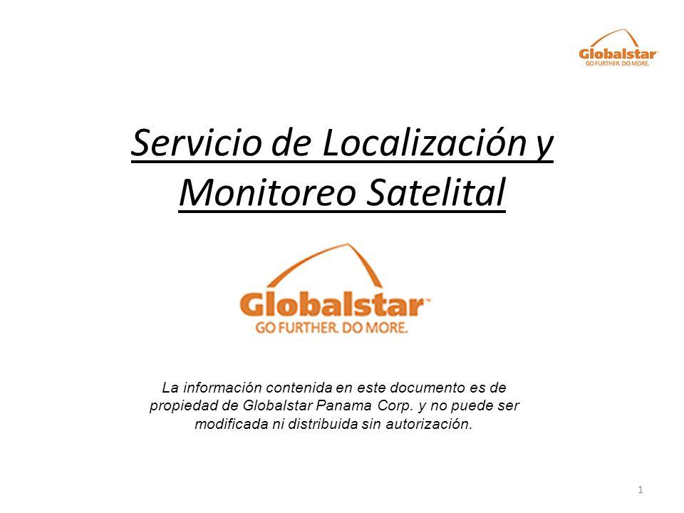 Servicio de Localización y Monitoreo Satelital