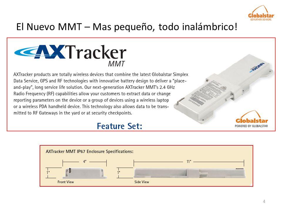 El Nuevo MMT – Mas pequeño, todo inalámbrico!
