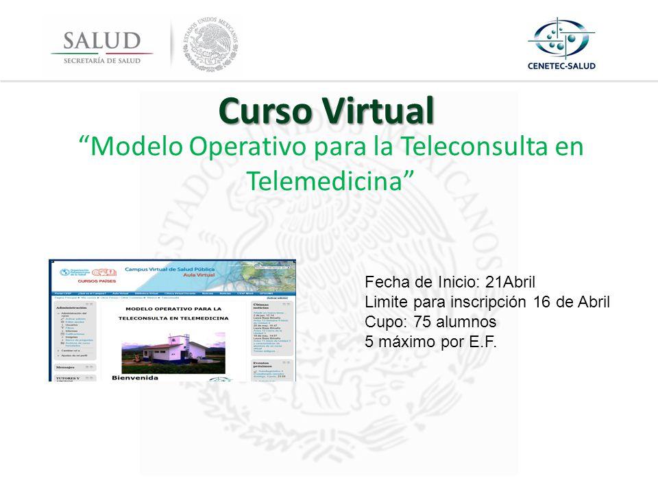 Modelo Operativo para la Teleconsulta en Telemedicina