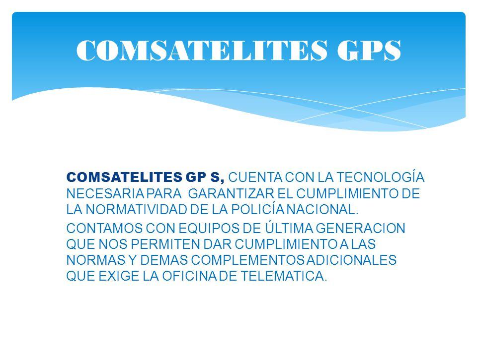COMSATELITES GPS