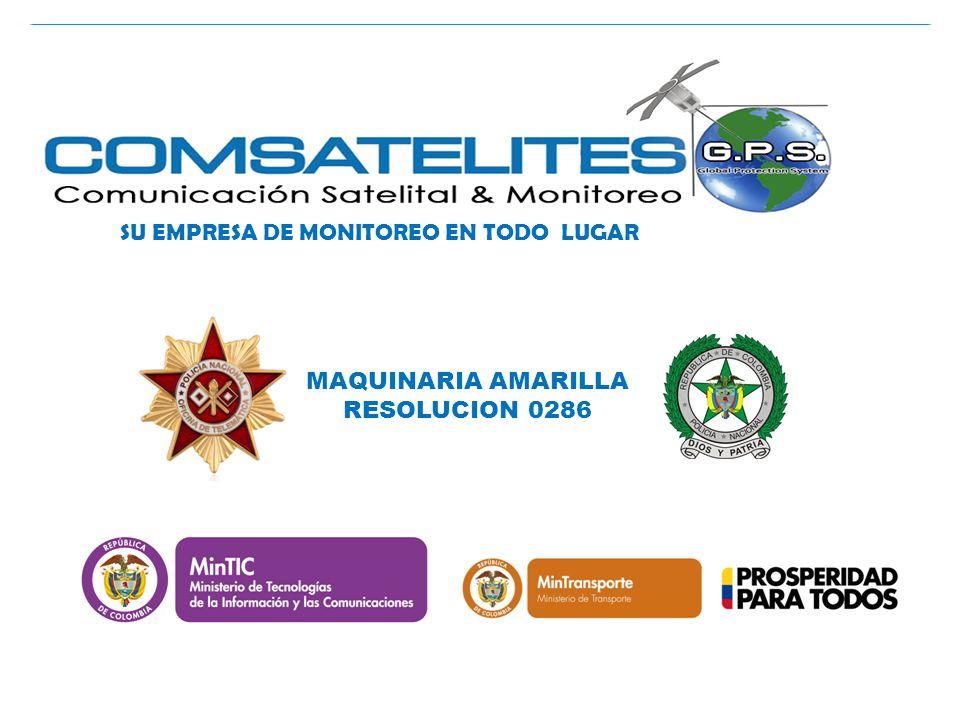 COMSATELITES GPS SU EMPRESA DE MONITOREO EN TODO LUGAR