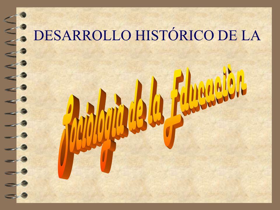 DESARROLLO HISTÓRICO DE LA