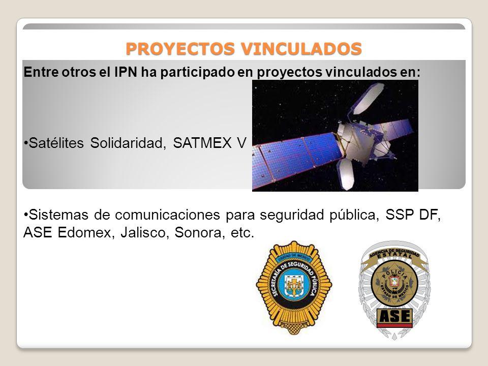 PROYECTOS VINCULADOS Satélites Solidaridad, SATMEX V