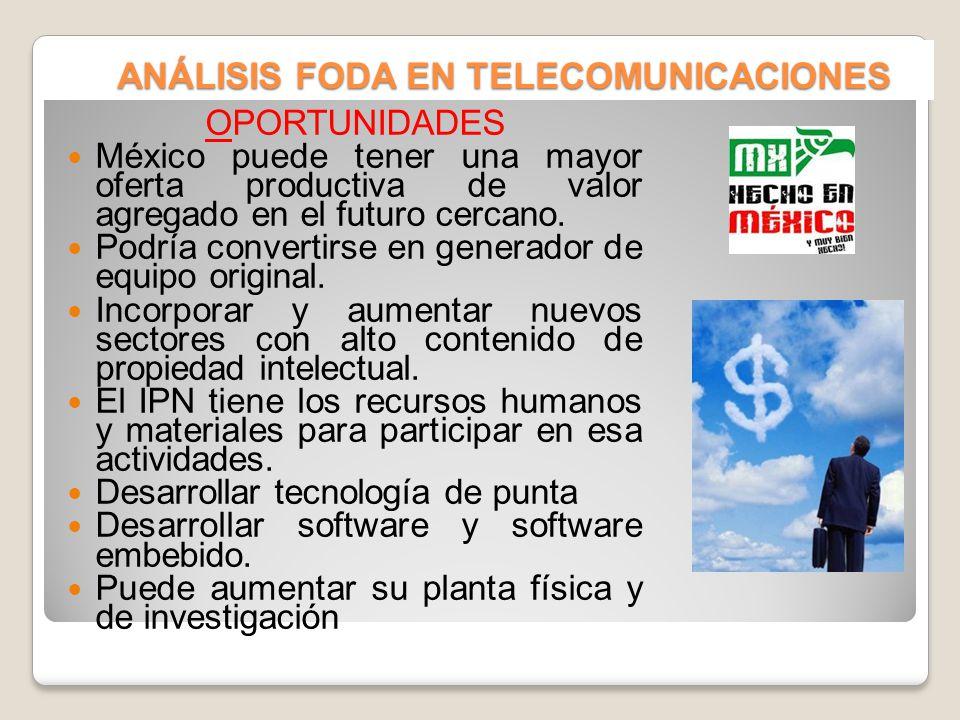 ANÁLISIS FODA EN TELECOMUNICACIONES