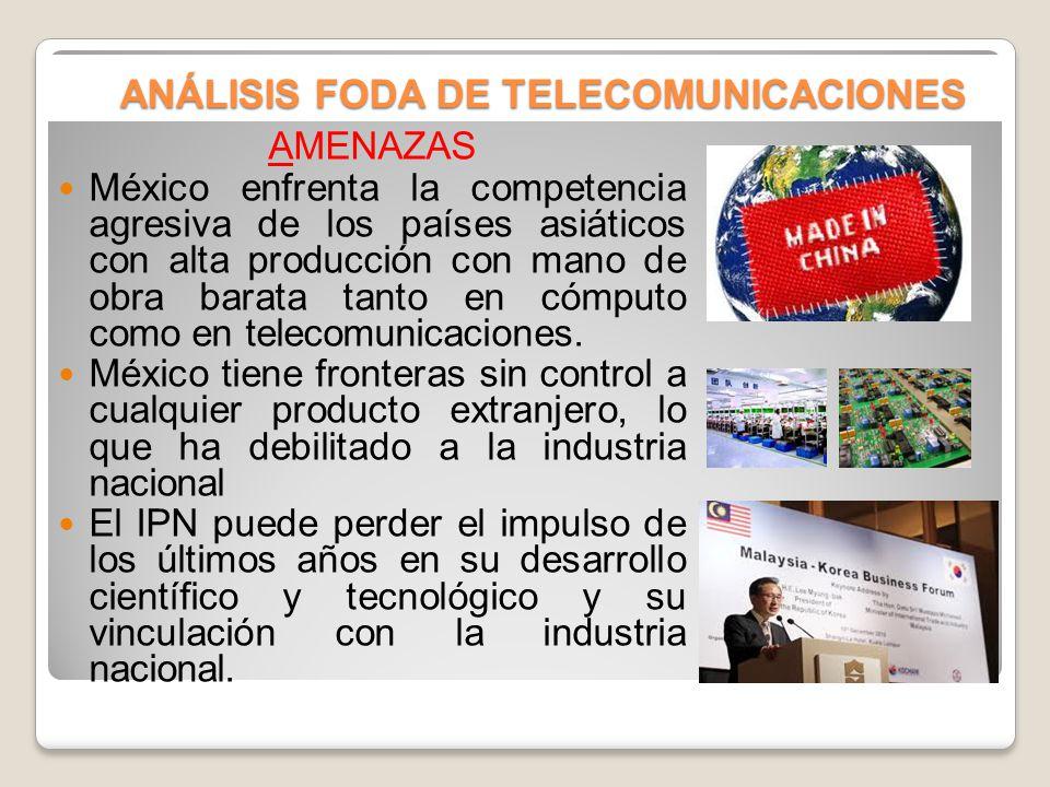 ANÁLISIS FODA DE TELECOMUNICACIONES