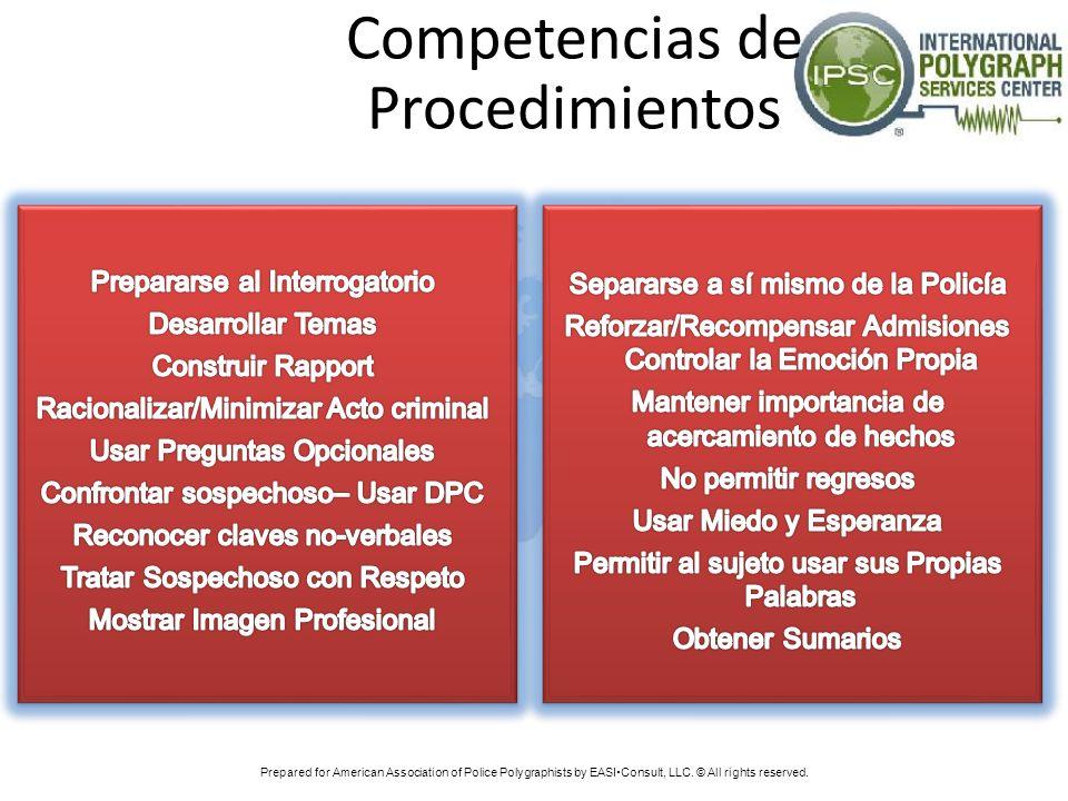 Competencias de Procedimientos