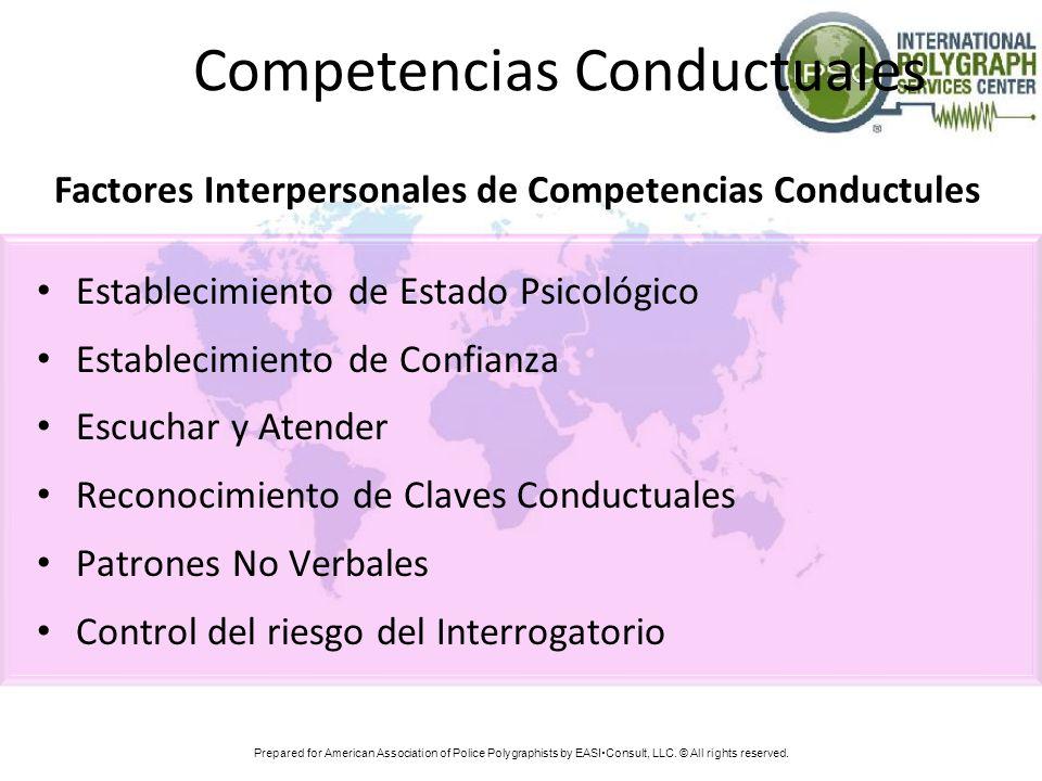 Competencias Conductuales