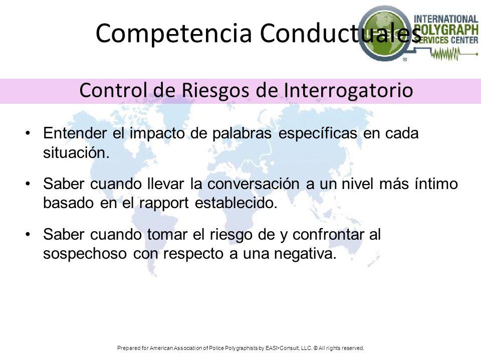 Competencia Conductuales